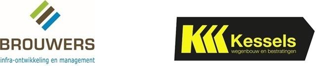 Brouwers Infra / Kessels Wegenbouw en Bestratingen Logo